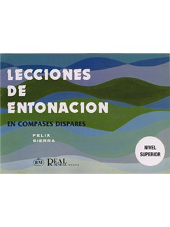 Lecciones de Entonación, en Compases Dispares (Nivel Superior) Books | Piano & Vocal