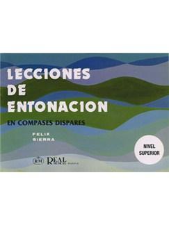 Lecciones de Entonación, en Compases Dispares (Nivel Superior) Libro | Piano & Vocal