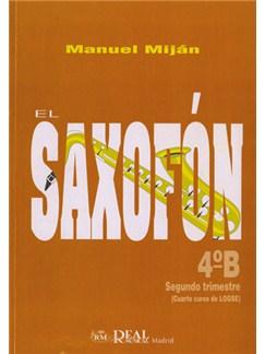 El Saxofón, Volumen 4B (2 Trimestre) Libro | Saxophone