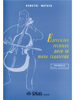 Ejercicios Técnicos Para La Mano Izquierda, Nivel Elemental Libro | Cello