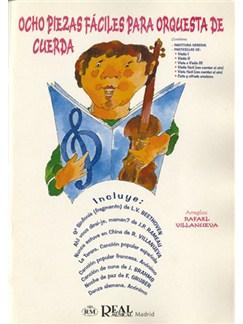 Ocho Piezas Fáciles para Orquesta de Cuerda Books | Ensemble