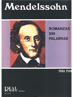 Felix Mendelssohn Bartholdy: Romanzas sin Palabras Libro | Piano