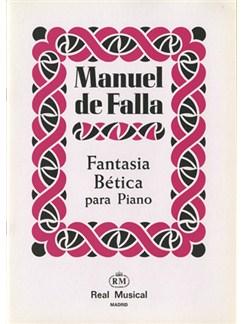Manuel De Falla: Fantasía Bética para Piano Books | Piano