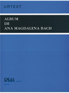 Johann Sebastian Bach: Album de Ana Magdalena Libro | Piano