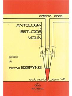Antología de Estudios para Violín Volumen 4b, Grado Superior Libro | Violin