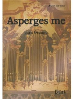 Miguel del Barco: Asperges Me para Órgano Libro | Organ