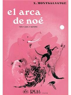 Xavier Montsalvatge: El Arca de Noé para Flauta y Guitarra Libro | Flute, Guitar
