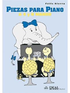 Piezas para Piano a 4 y 6 Manos Libro | Piano Duet