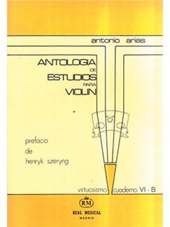 Antología de Estudios para Violín Volumen 6b, Grado Virtuosismo Libro | Violin
