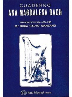 Johann Sebastian Bach: Cuaderno de Ana Magdalena Bach para Arpa Libro | Harp