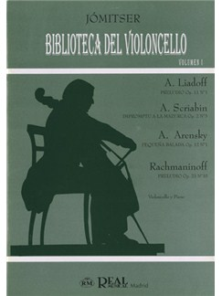 Biblioteca del Violoncello, Volumen I Libro | Cello