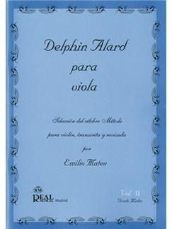 Delphin Alard para Viola, Vol.2 - Grado Medio Libro | Viola