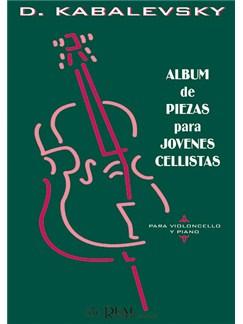 Kabalevsky: Album de Piezas para Jóvenes Cellistas, para Violoncello y Piano Livre | Violoncelle