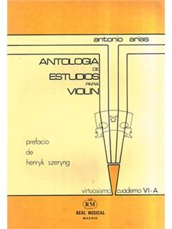 Antología de Estudios para Violín Volumen 6a, Grado Virtuosismo Libro | Violin
