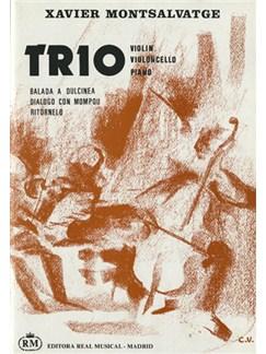 Xavier Montsalvatge: Trío, para Violín, Violoncello, Piano Libro | Trio