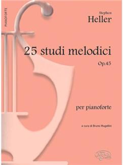 Stephen Heller: 25 Studi Melodici Op.45, per Pianoforte Books | Piano