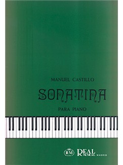 Manuel Castillo: Sonatina para Piano Libro | Piano