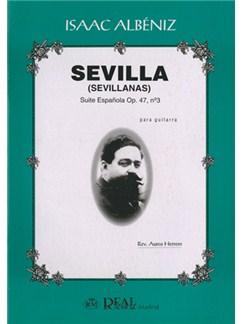 Isaac Albéniz: Sevilla (Sevillanas), Suite Española Op.47 No.3 para Guitarra Books | Guitar