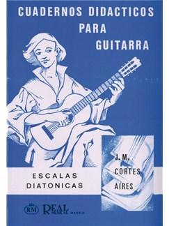 Cuadernos Didácticos para Guitarra, Escalas Diatónicas Libro | Guitar