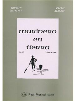 Ernesto Halffter: Marínero en Tierra, Op.27, Poemas de Rafael Alberti para Canto y Piano (Mezzo-Soprano) Books | Piano & Vocal