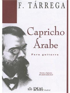 Francisco Tarrega: Capricho Árabe para Guitarra Books | Guitar