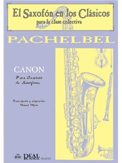 Johann Pachelbel: Canon para Cuarteto de Saxofones Libro | Saxophone