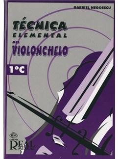 Técnica Elemental del Violonchelo, Volumen 1°c Libro | Cello