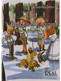 Villancicos de Europa para Grupo y Orquesta de Flautas (Grado Elemental) Books | Flute (Quartet)