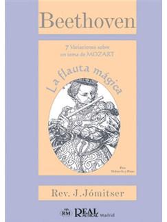 Ludwig Van Beethoven: 7 variaciones sobre un tema de Mozart: La Flauta Mágica, para Violoncello y Piano Libro | Cello, Piano