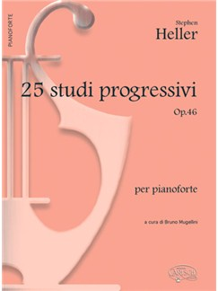 Stephen Heller: 25 Studi Progressivi Op.46, per Pianoforte Books | Piano