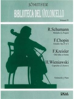 Biblioteca del Violoncello, Volumen IV Libro | Cello