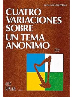 Xavier Montsalvatge: 4 Variaciones sobre un tema anónimo, para Arpa Books | Harp