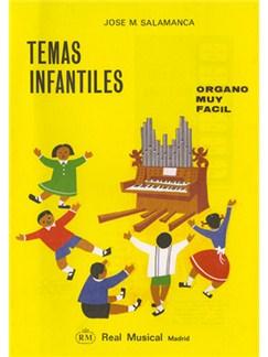Temas Infantiles (Órgano Muy Fácil) Libro | Organ