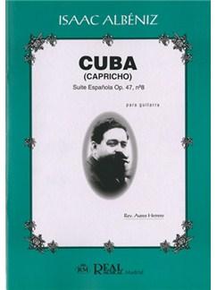 Isaac Albéniz: Cuba (Capricho), Suite Española Op.47 No.8 para Guitarra Libro | Guitar