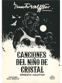 Ernesto Halffter: Canciones del Niño de Cristal Books | Piano & Vocal