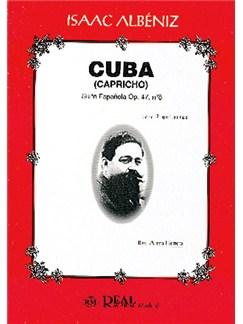 Isaac Albéniz: Cuba (Capricho), Suite Española Op..47 No.8 para 2 Guitarras Libro | Guitar