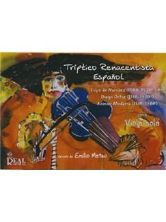 Luis de Narváez - Diego Ortiz - Alonso Mudarra: Tríptico Renacentista Español para Viola Sola (Rev. Emilio Mateu) Books | Viola
