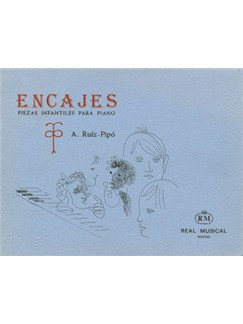 Ruiz Pipò: Encajes, Piezas Infantiles para Piano Books | Piano