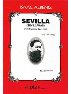 Isaac Albéniz: Sevilla (Sevillanas), Suite Española Op.47 No.3 para 2 Guitarras Books | Guitar (Duet)