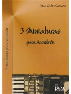 Juan Carlos Cárcamo: 3 Miniaturas para Acordeón Libro | Accordion