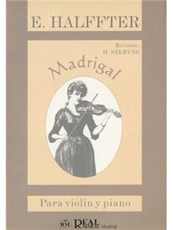 Ernesto Halffter: Madrigal, para Violín y Piano Libro | Piano, Violin