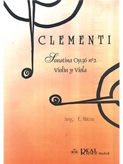 Muzio Clementi: Sonatina Op.36 No.2, para Violín y Viola Books | Violin, Viola