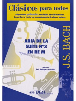 J.S. Bach: Aria de la Suite No.3 en Re Mayor Books | Ensemble