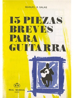 Manuel R. Salas: 15 Piezas Breves para Guitarra Books | Guitar