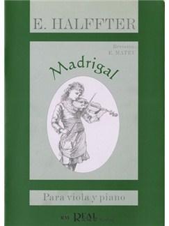 Ernesto Halffter: Madrigal para Viola y Piano Libro | Piano, Viola