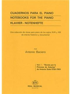 Antonio Soler: Sonata Por La Princesa De Asturias Books | Piano