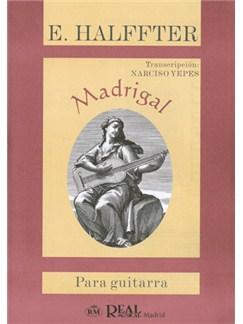 Ernesto Halffter: Madrigal para Guitarra Libro | Guitar