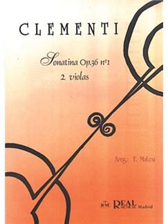 Muzio Clementi: Sonatina Op.36 No.1, para 2 Violas Books | Viola (Duet)
