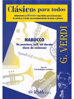 Giuseppe Verdi: Va pensiero, sull'ali dorate (Coro de Esclavos de Nabucco) Libro | Ensemble