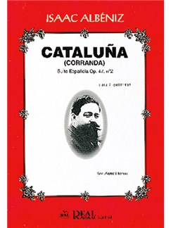 Isaac Albéniz: Cataluña (Corranda), Suite Española Op.47 No.2 para 2 Guitarras Books | Guitar (Duet)